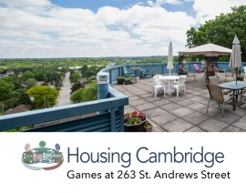 Games and overall 'funness' at 263 St. Andrews Street